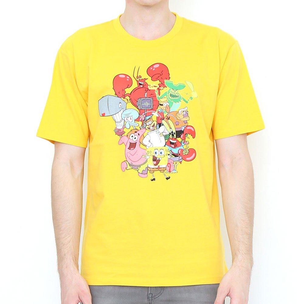 Tシャツ (スポンジ・ボブ集合)イエロー M 101000481 SB