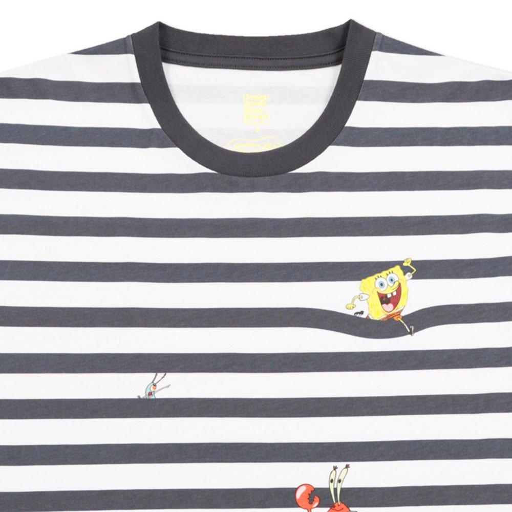 Tシャツ (フレンズボーダー)ホワイト S 18003052 SB