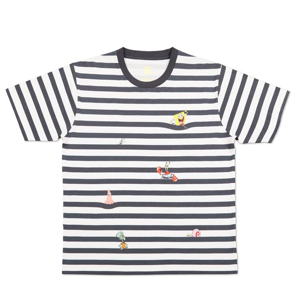 Tシャツ (フレンズボーダー)ホワイト L 18003052 SB