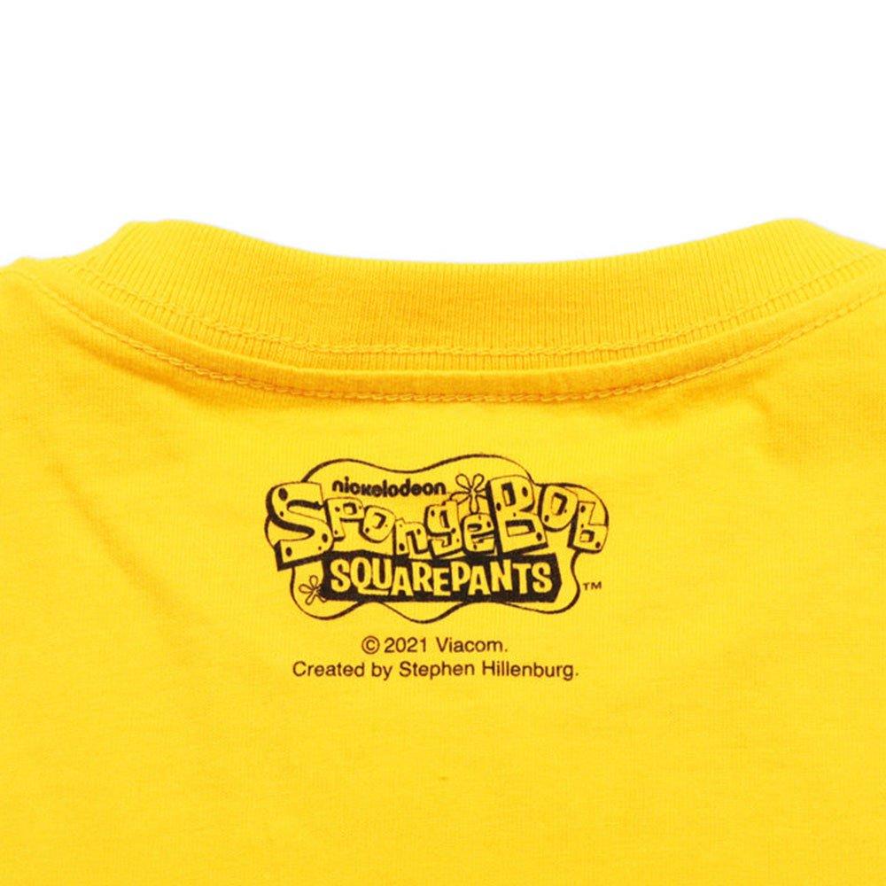キッズTシャツ (スポンジ・ボブ集合)イエロー 100 46000993 SB