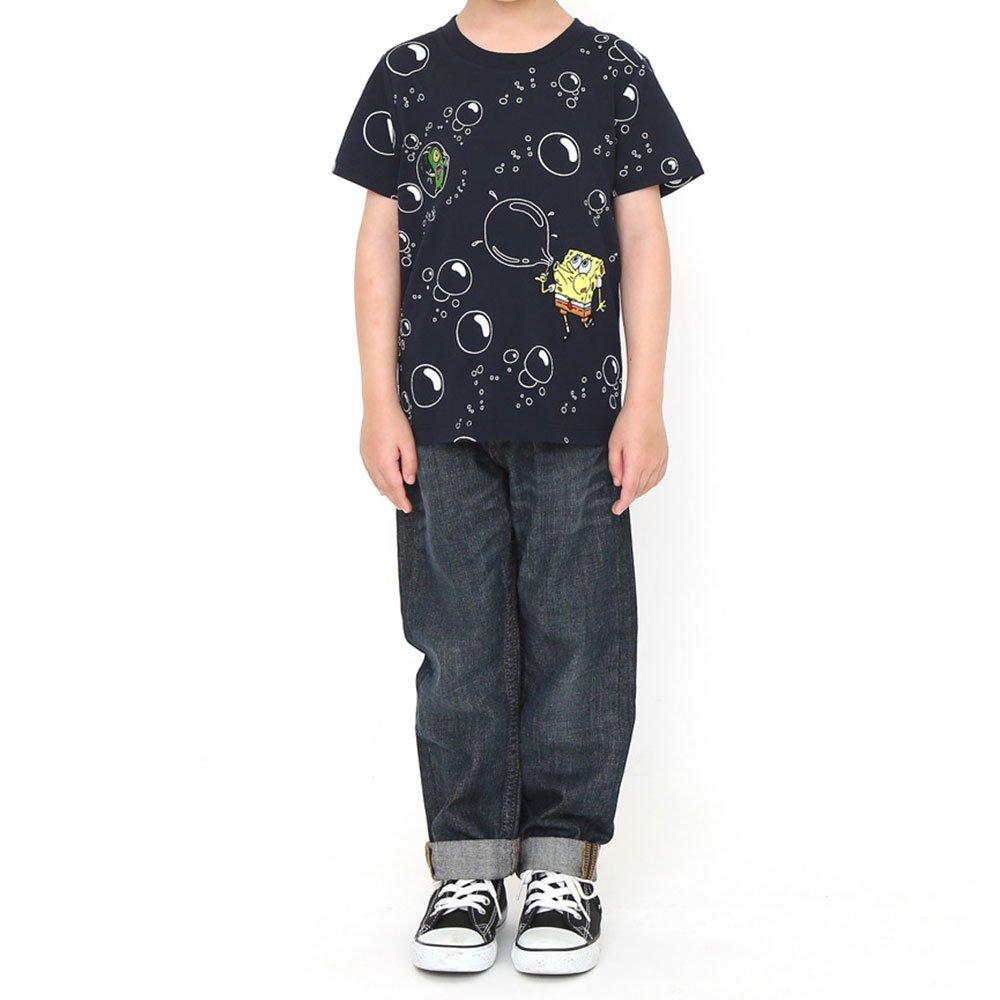キッズTシャツ (シャボン玉)ネイビー 120 45000572 SB