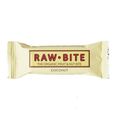 デンマーク産オーガニックバー|RAW-BITE|ココナッツ|50g