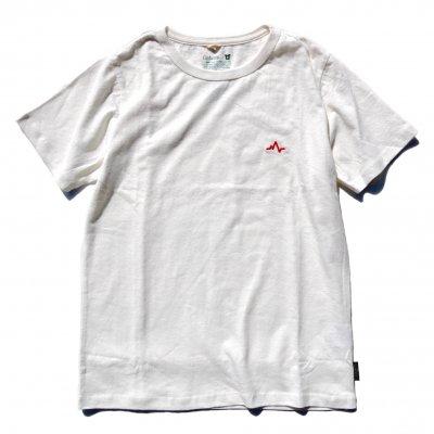 NAUロゴ刺繍|ヘンプTee|RED