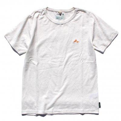 NAUロゴ刺繍|ヘンプTee|Orange