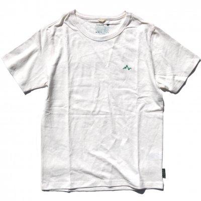NAUロゴ刺繍|ヘンプTee|Green