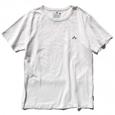 NAUロゴ刺繍|ヘンプTee|Purple