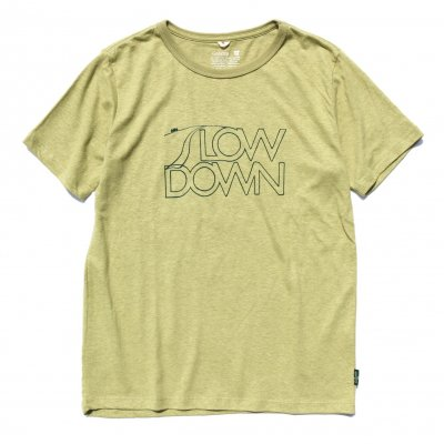 新3S Tee|Slow Down|gohemp body