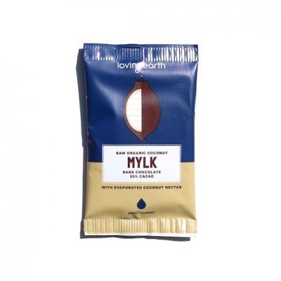 有機ローチョコレート|ココナッツミルク|30g|lovingearth