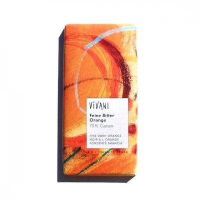VIVANI|オーガニックダークチョコレート|オレンジ|100g