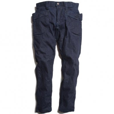 GO HEMP|VENDOR TAPERED SLIM PANTS|10oz H/C DENIM STRETCH|ONE WASH