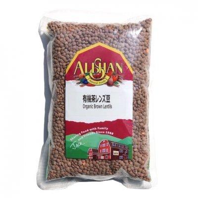 有機茶レンズ豆|500g|アリサン