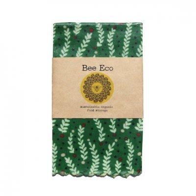 Bee Eco Wrap|天然素材のラップ|Mサイズ [約27×27cm]|ミツロウ×オーガニックコットン|繰返し使用可|A