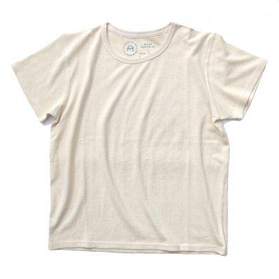 三宅商店オリジナル ベーシックTシャツ 生成り