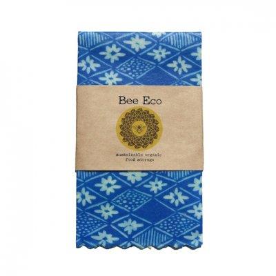 Bee Eco Wrap|天然素材のラップ|Mサイズ [約27×27cm]|ミツロウ×オーガニックコットン|繰返し使用可|E