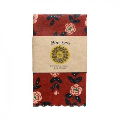 Bee Eco Wrap|天然素材のラップ|Mサイズ [約27×27cm]|ミツロウ×オーガニックコットン|繰返し使用可|G