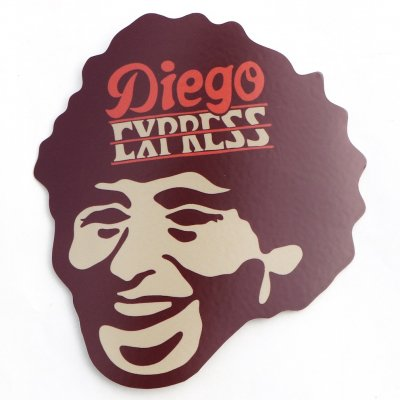 犬式OFFICIAL|Diego EXPRESS ステッカー