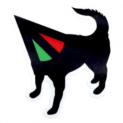 犬式OFFICIAL|犬式×BAKIBAKI コラボステッカー|ろ