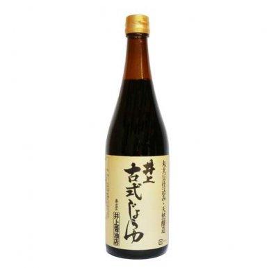 井上古式じょうゆ|720ml|丸大豆仕込み|天然醸造