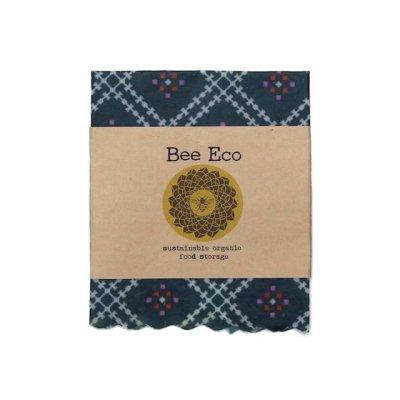 Bee Eco Wrap|天然素材のラップ|Sサイズ [約18×18cm]|ミツロウ×オーガニックコットン|繰返し使用可|E