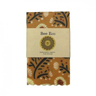 Bee Eco Wrap|天然素材のラップ|Mサイズ [約27×27cm]|ミツロウ×オーガニックコットン|繰返し使用可|B