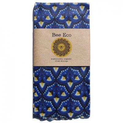Bee Eco Wrap|天然素材のラップ|XLサイズ [約43×43cm]|ミツロウ×オーガニックコットン|繰返し使用可|D