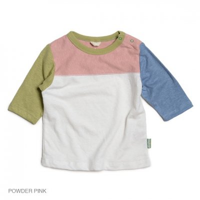 Kodomo|SUNNY FOOTBALL TEE|POWDER PINK|KIDS|GO HEMP