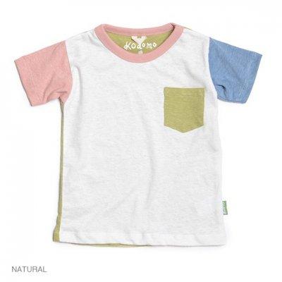 Kodomo|SUNNY S/SL TEE|NATURAL|KIDS|GO HEMP
