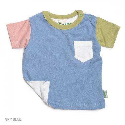 Kodomo|SUNNY S/SL TEE|SKY BLUE|KIDS|GO HEMP