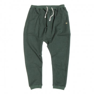 GO HEMP|MUSA PANTS / H/C TERRY|DARTMOUTH GREEN|WOMEN