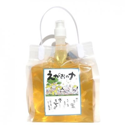えがおの力[旧商品名 松の力] |2000ml|多用途 自然洗剤|植物性