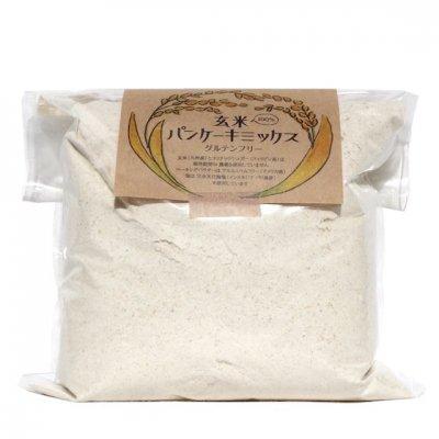 玄米パンケーキミックス[業務用]|1kg|manma