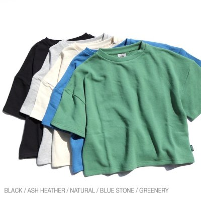 GO HEMP|SHORT TEE / H/C TERRY|WOMEN