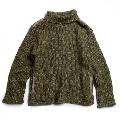 GO HEMP|SLOW TURTLE NECK / H/W RIB STITCH|2 Colors