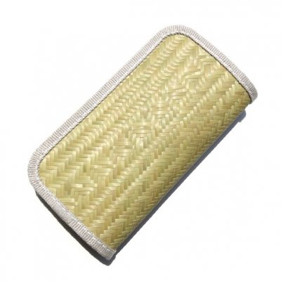 青竹と麻の財布|大|桝網代|ametuti