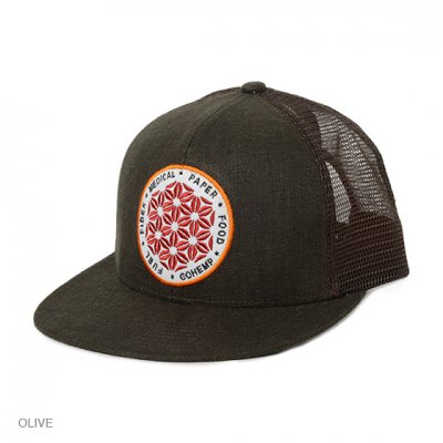 GO HEMP|SYMBOL OF HEMP MESH CAP|3Colors
