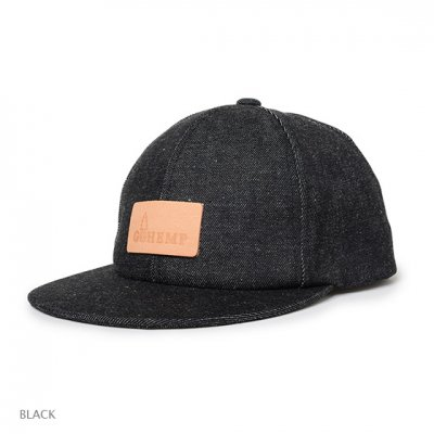 GO HEMP|BASEBALL CAP / SLUB NEP DENIM