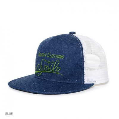 GO HEMP|SMILE MESH CAP|2Colors