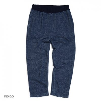 GO HEMP|EASY SWEAT PANTS / H/C TERRY|INDIGO