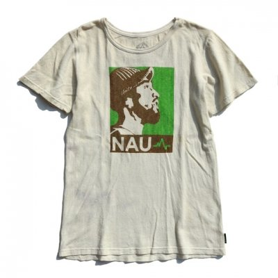 [USED] NAU Tee [BROWN×GREEN]|Mサイズ|enishi ボディ
