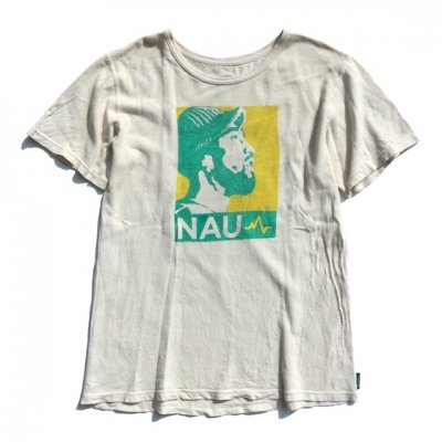 [USED] NAU Tee [YELLOW×BLUEGREEN]|Mサイズ|enishi ボディ
