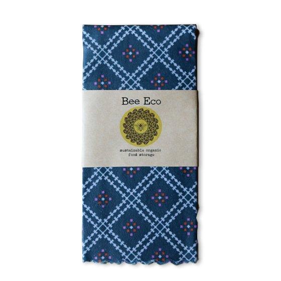 Bee Eco Wrap|天然素材のラップ|XLサイズ [約43×43cm]|ミツロウ×オーガニックコットン|繰返し使用可|C