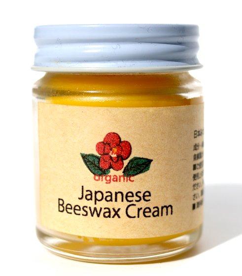 日本蜜蜂ミツロウ×オーガニック椿オイル クリーム|40g