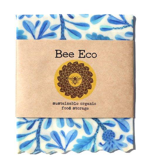 Bee Eco Wrap|天然素材のラップ|Sサイズ [約18×18cm]|ミツロウ×オーガニックコットン|繰返し使用可|D