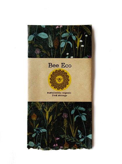 Bee Eco Wrap|天然素材のラップ|Lサイズ [約33×33cm]|ミツロウ×オーガニックコットン|繰返し使用可|C