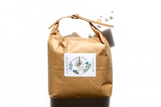 亀の尾【山形産】|白米|2kg|無肥料・無農薬栽培米|荒生勘四郎農場