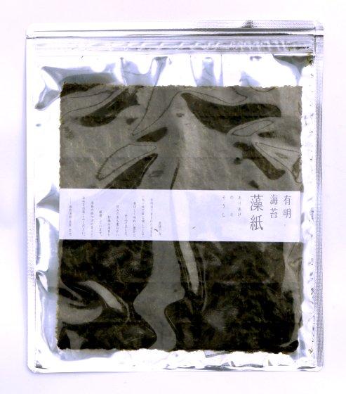 有明海苔 藻紙 [そうし] |全形|5枚