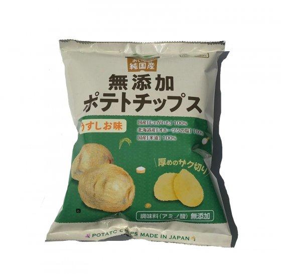 純国産ポテトチップスうすしお味|60g|株式会社ノースカラーズ