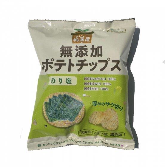 純国産ポテトチップスのり塩味|55g|株式会社ノースカラーズ