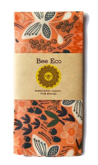 Bee Eco Wrap|天然素材のラップ|XLサイズ [約43×43cm]|ミツロウ×オーガニックコットン|繰返し使用可|A