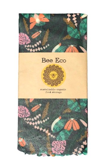 Bee Eco Wrap|天然素材のラップ|XLサイズ [約43×43cm]|ミツロウ×オーガニックコットン|繰返し使用可|B